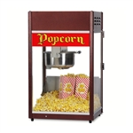 Gold Medal 1866 Ultra P-60 Popper Popcorn Machine w/ 6 oz EZ Kleen Kettle, 120v