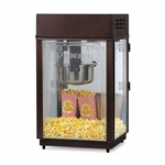 Gold Medal 1871 Heavy Duty Popcorn Machine w/ 6 oz EZ Kleen Kettle & Etched Glass, 120v
