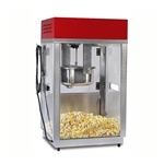 Gold Medal 2660SR Portable Popcorn Machine w/ 6 oz Kettle & Red Top, 120v