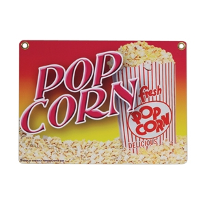 #2899 - Heavy Duty Popcorn Sign
