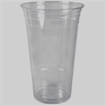 24 oz Clear PET Cup 600 per case