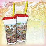 "32oz ""Fun at the Fair"" Special Edition Souvenir Cup with Lid and Straw"