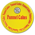 "9"" Funnel Cake Paper Plate"