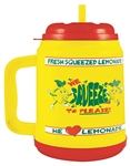 "32 oz ""We Squeeze to Please"" Mini Lemonade Tanker"