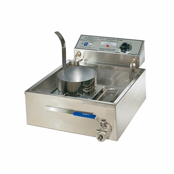 "Gold Medal 8051D 17"" Electric Funnel Cake Fryer w/ (3) Cake Capacity, 120v"
