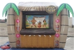 Tiki Bar sure to turn heads. Great for indoor and outdoor events. 