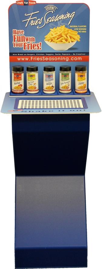 Floor Display Seasoning Stand