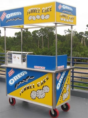 Funnel Cake & Deep Fried Oreo Cart Start up Kit