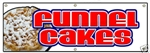 "Funnel Cakes Banner 72"" x 24"""