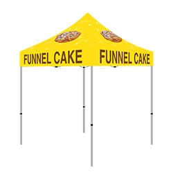 10x10 Funnel Cake Tent