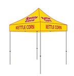 10X10 Custom Kettle Corn Tent