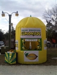 Fire Retardant Inflatable Lemonade Booth