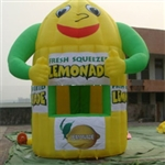 2013 Inflatable Lemon Booth