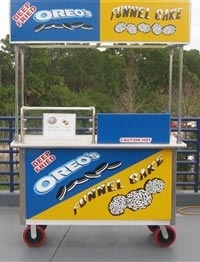funnel cake machine used funnel cake cart 4419
