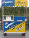 Used Funnel Cake Cart