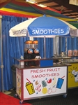 Used Smoothie Push Cart
